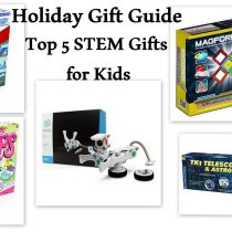 Holiday Gift Guide Top 5 STEM Gifts for Kids