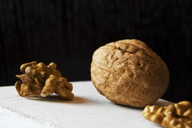 Walnut and Flax Seeds