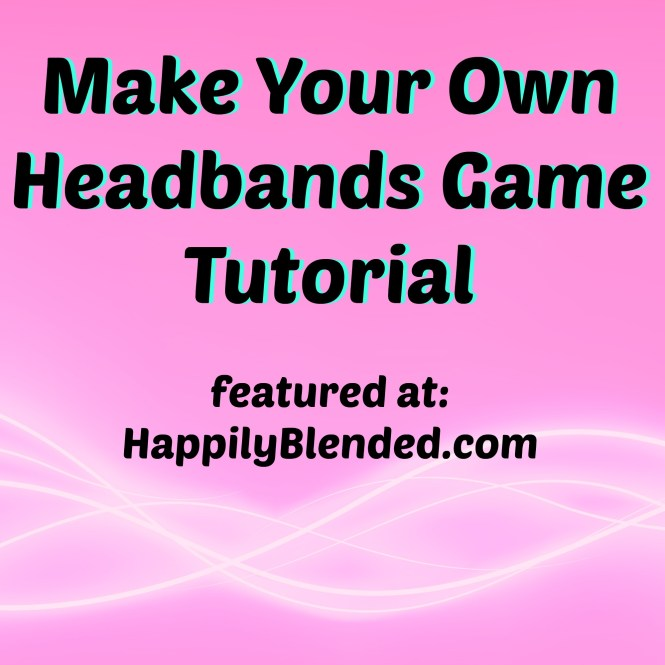 make your own headbands game