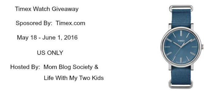 Timex.com Watch Giveaway