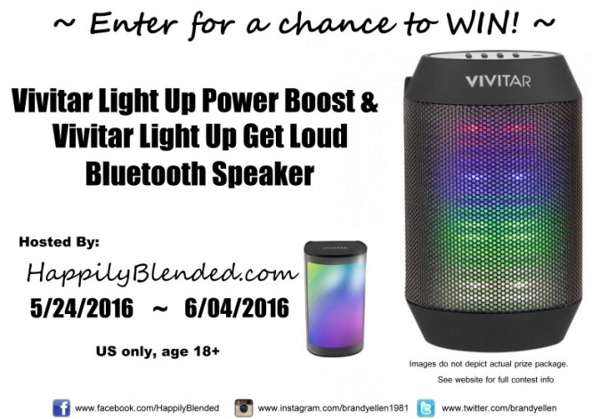 Vivitar Promo Giveaway from Happily Blended