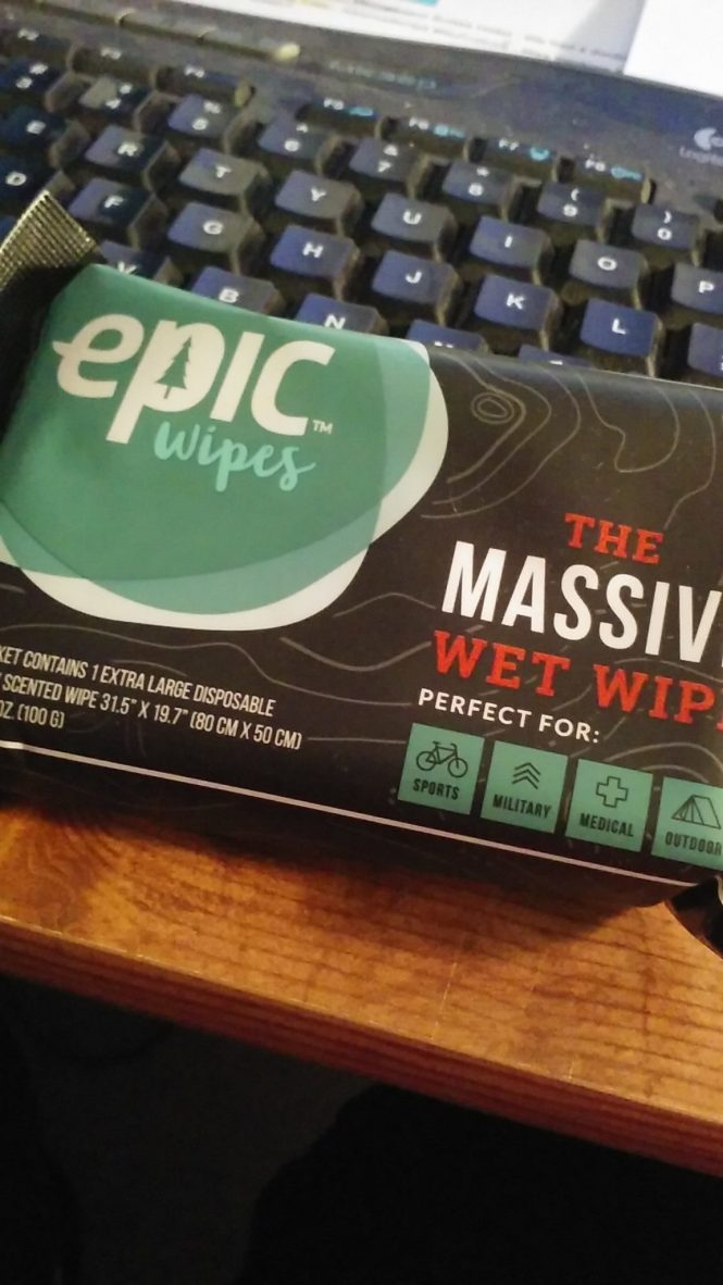 Epic Wipes - Kickstarter Campaign Featued at Happily Blended