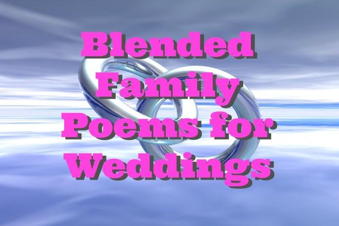 blended famiy poems for weddings