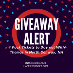 Happily Blended Day Out with Thomas in North Conway, NH Giveaway