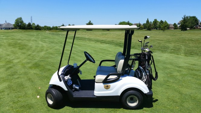 Happily Blended features tips on Shopping for a Golf Cart