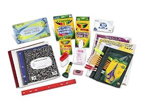 First and Second Grade Back to School Shopping Essentials Package