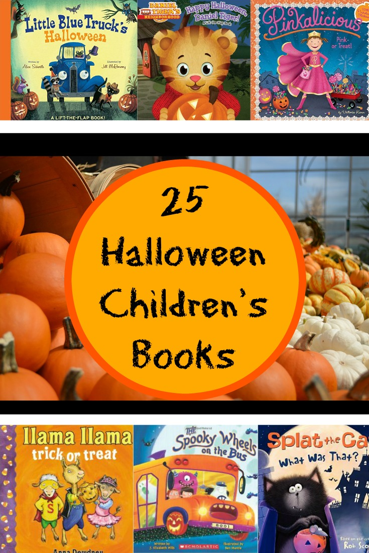 25 Halloween Children's Books