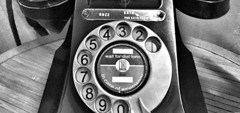 This vintage phone