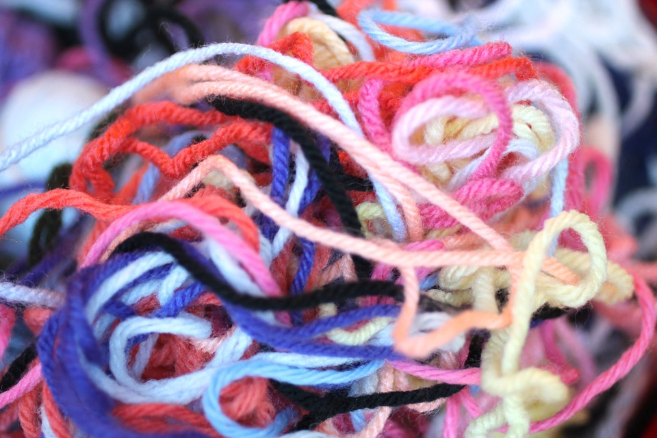 Handful of yarn and a life lesson