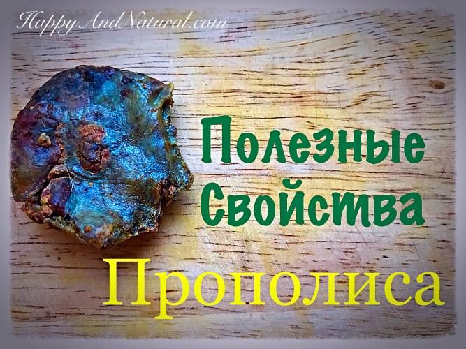 Прополис и его необычайные полезные свойства