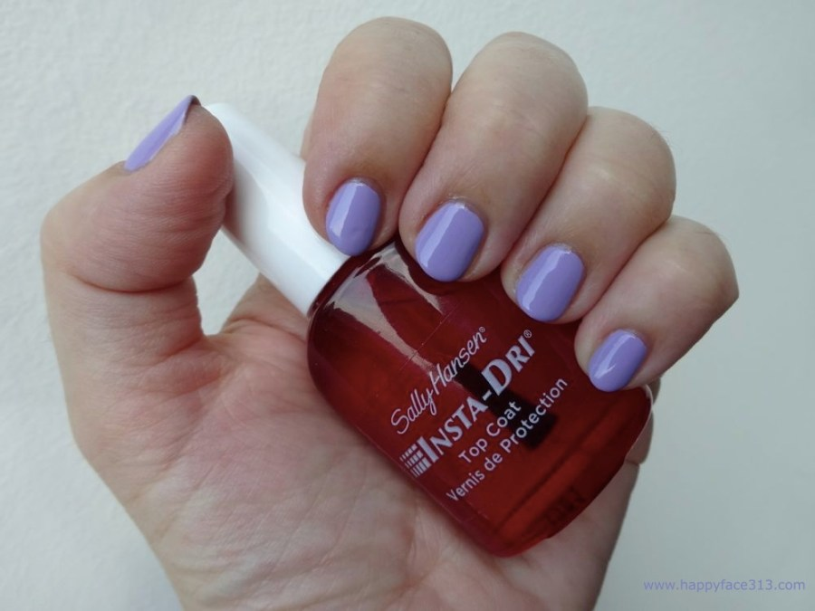 mit Top-Coat Sally Hansen Insta-Dry
