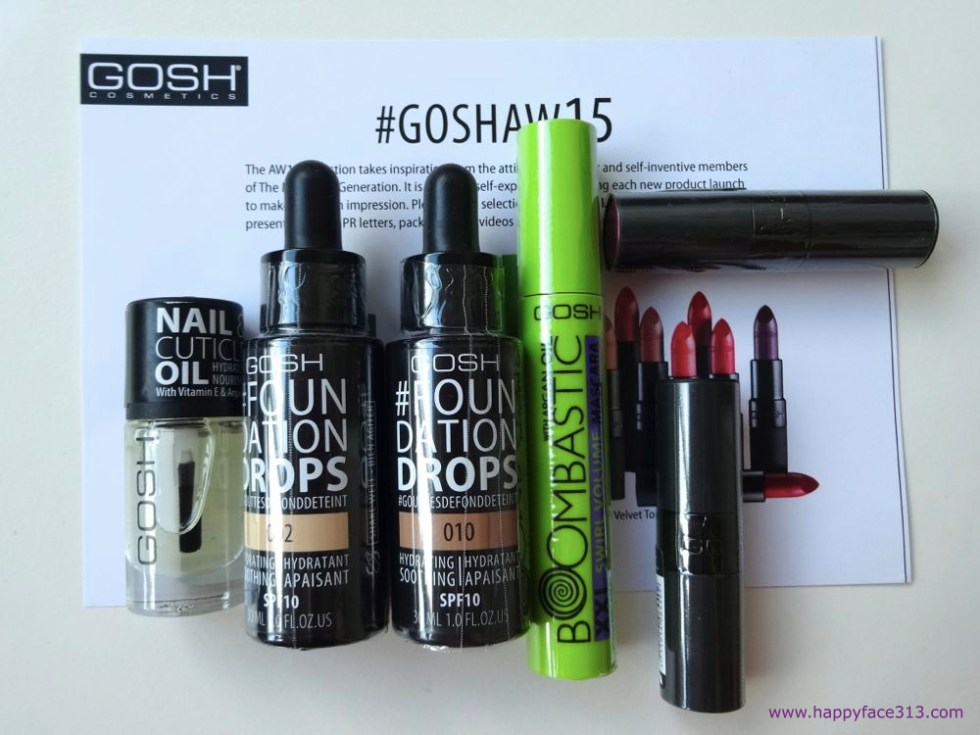 HappyFace313 Gosh Cosmetics Copenhagen Goshaw15 1