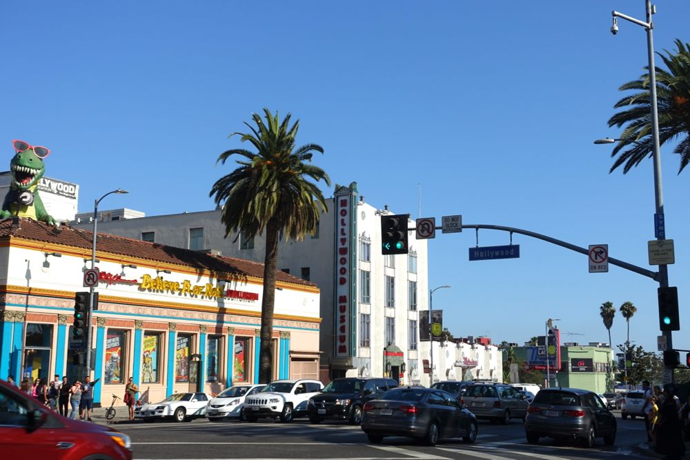 Popular Monumental Hollywood Sights and Beverly Hills Luxury