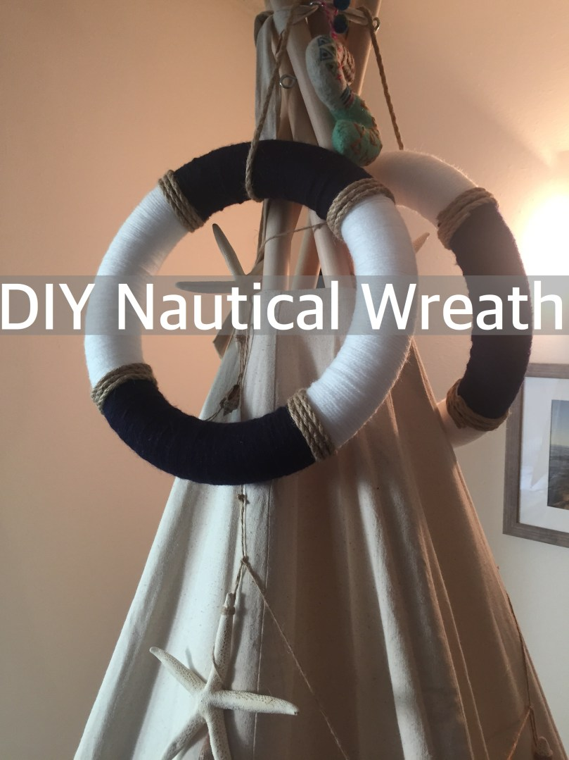 DIY Nautical Wreath by Happy Family Blog