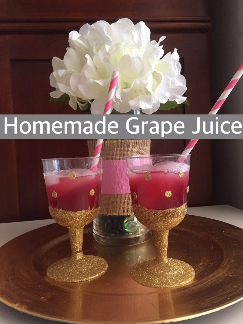 Homemade Grape Juice - Happy Family Blog