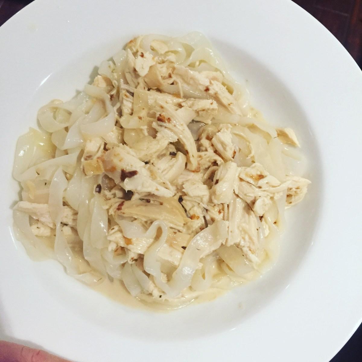 Low Calorie Chicken Alfredo