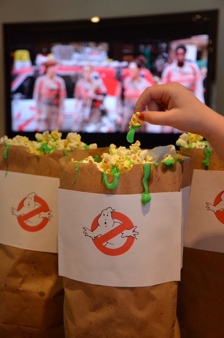 Ghostbusters Ecto Slime Popcorn