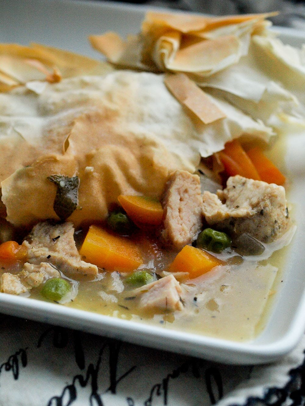 Exciting An Lightened Up Turkey Pot Pie Recipe That Is Lightened Up Turkey Or Ken Pot Pie Happy Healthy Mama 77 Easy Recipes Taco Casserole 77 Easy Recipes Crock Pot nice food 77 Easy Recipes