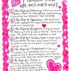 Valentine Gifts that don't cost a cent!
