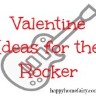 valentine ideas for the kid who likes to rock n' roll at happyhomefairy.com