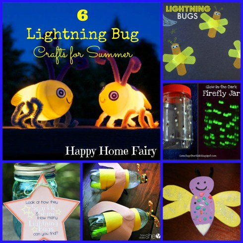 such cute lightning bug craft ideas for summertime!