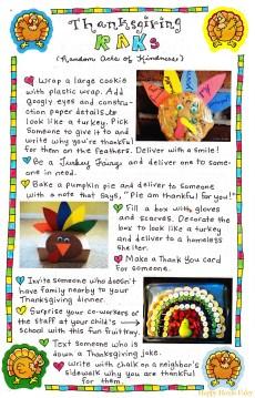 Thanksgiving RAKs