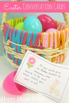 Easter Conversation Cards – FREE Printable!