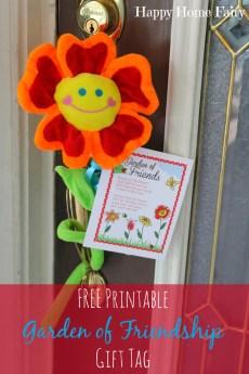 A Garden of Friendship – FREE Printable!