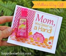 Easy Mother's Day Gift Idea – FREE Printable!