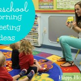 Preschool Morning Meeting Ideas - Geared for 2-3 year olds! LOVE this! What a great way to start the day!