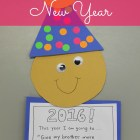 Love this CUTE and EASY craft for the New Year! I can't wait to see what my students resolve - ha! -)