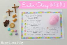 Easter Story Snack Mix – FREE Printable