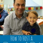 how to host a donuts with dad