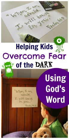 Helping Kids Overcome Fear of the Dark Using God's Word – FREE Printable