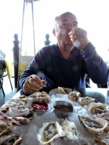 """Buck a Shuck"" oysters at Steamship Grill & Bar"