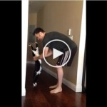 Sweet Kitten HUGS His Human. You Must See His PRICELESS Reaction
