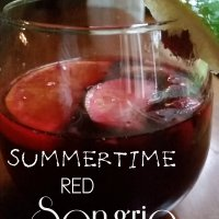 Red Sangria for Summer - with Pinot Noir?!