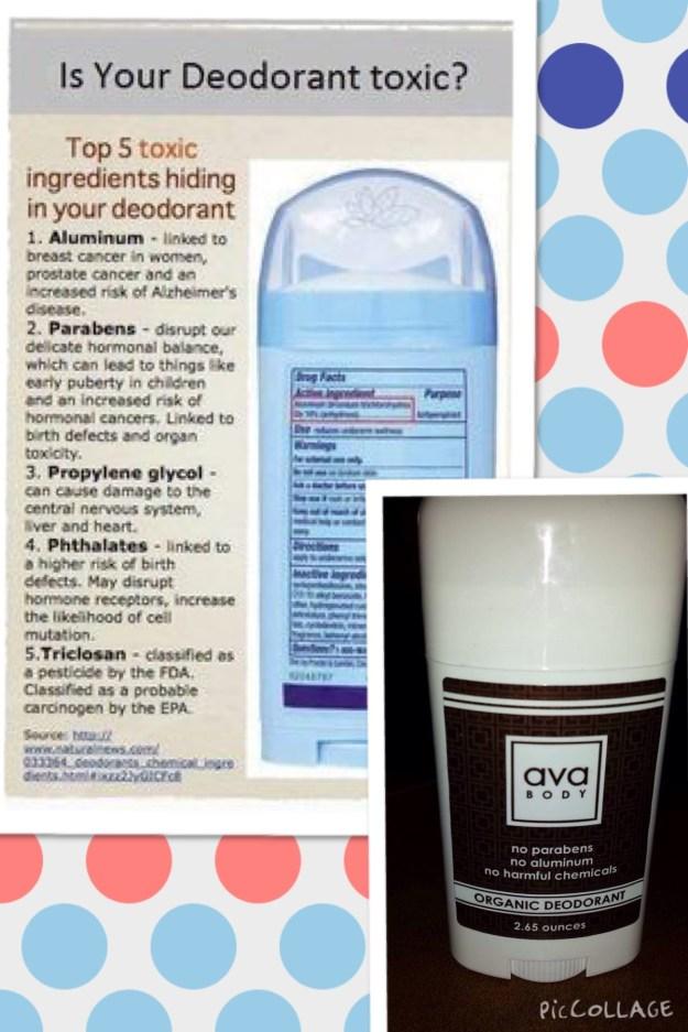ava deodorant