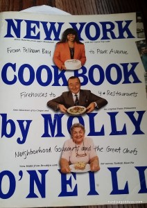 Favorite cookbook, new york