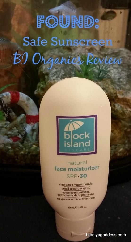 safe sunscreen block island organics review