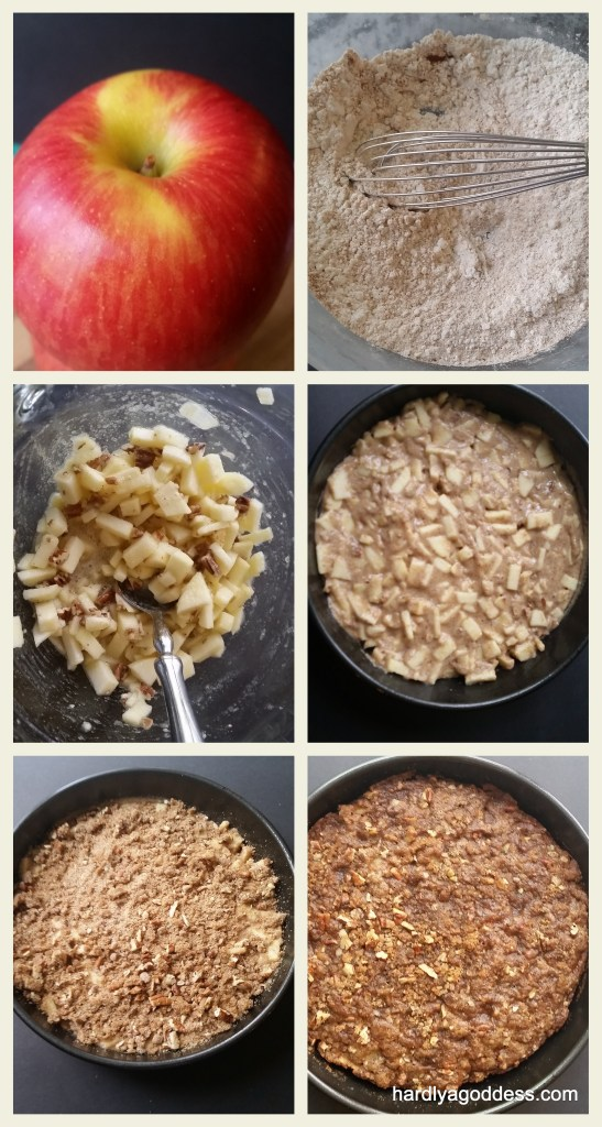 Low-Fat Apple Coffee Cake