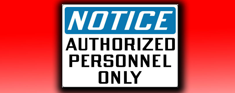 authorized personnel only featured img