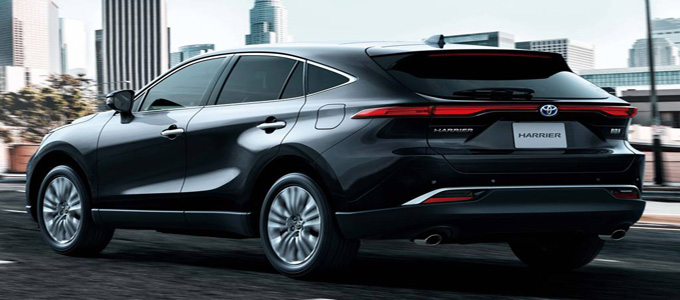 Toyota Harrier 2020 (credit: Line Today)