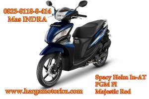 spacy royal blue Brosur Daftar Harga Tunai Cash Kredit Sepeda Motor dealer showroom Pekanbaru 0823 8118 8 414 CBR Beat Vario Techno REVO StreetFire verza revo mega pro pcx Supra X 125 termurah promosi syariah terbaru streetfire CB150R