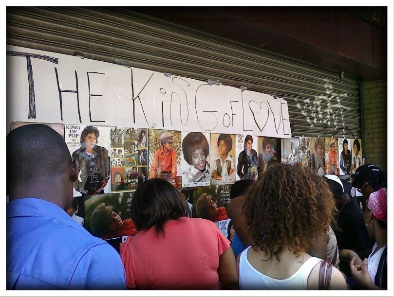 MJ public memorial