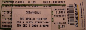 APOLLO Dreamgirls