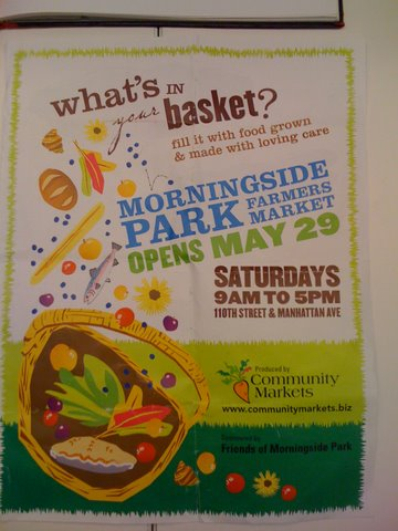 HCL Reminder   Check Out The Farmers Market in MorningSide Park This Morning!