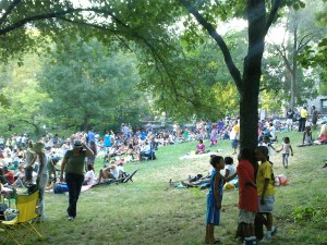 Harlem NYC Summer Sundays / Sundae Sermon in Morningside Park