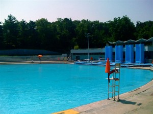 Harlem Lasker Pool in Central Park