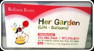 Her Garden balloon and gift store opens joining small businesses in Harlem